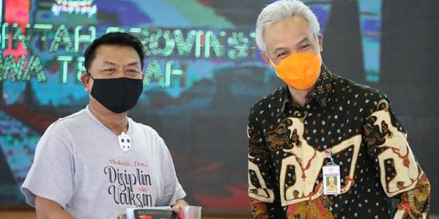 Lebih Rasional Dan Menjanjikan Relawan Jokowi Dukung Ganjar Ketimbang Moeldoko