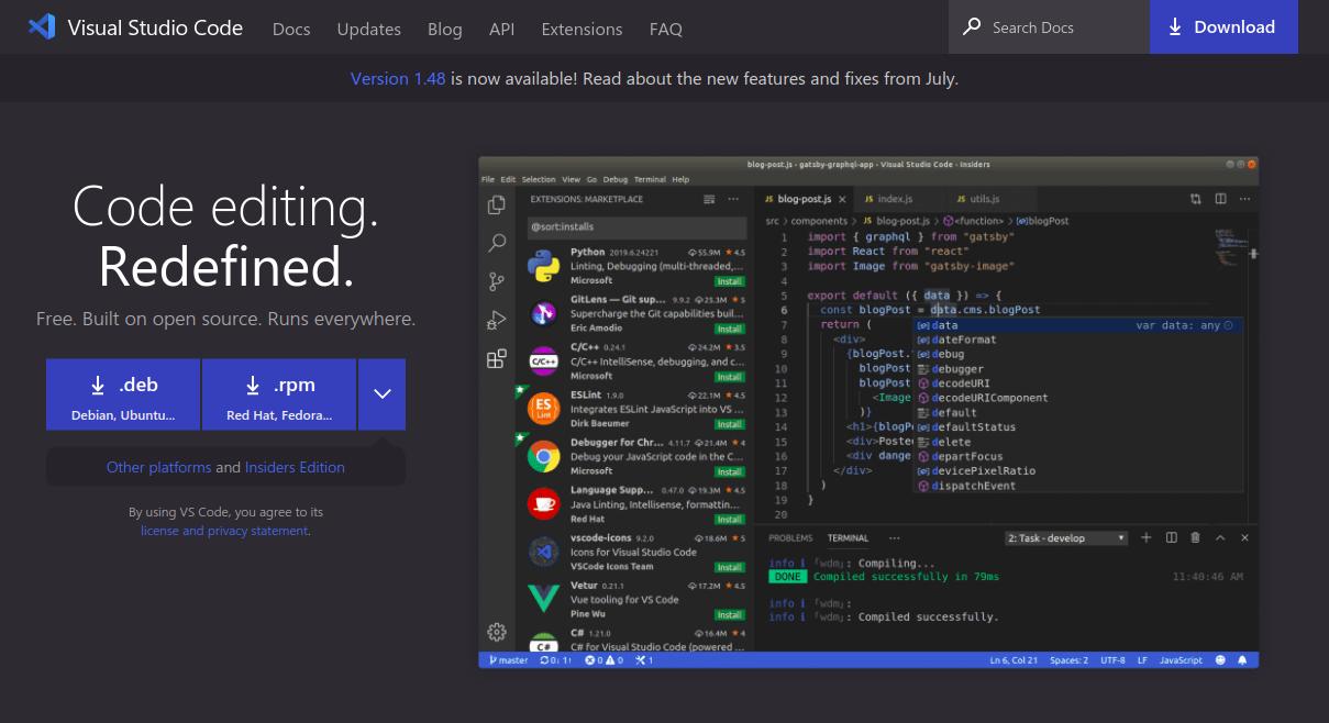 ide for web development