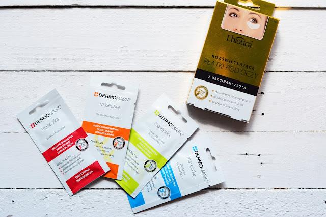 L'Biotica pielęgnacja twarzy, maseczki, płatki pod oczy
