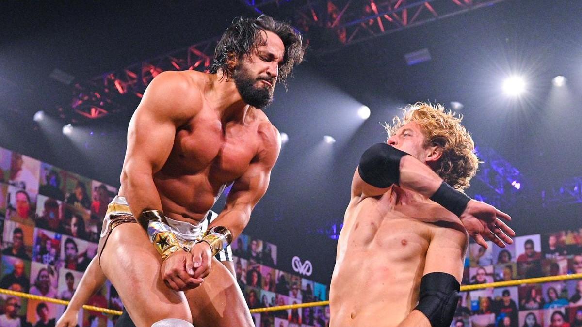 Tony Nese and Curt Stallion on WWE 205 Live