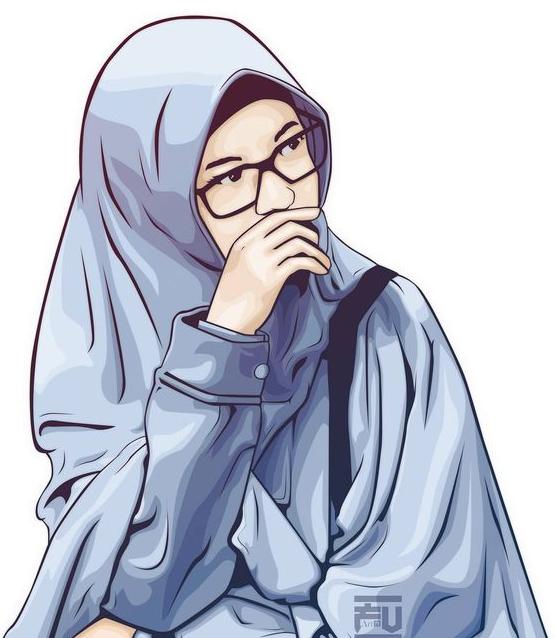 2021 Animasi Gambar Kartun Muslimah Cantik Terbaru 2019 Terupdate
