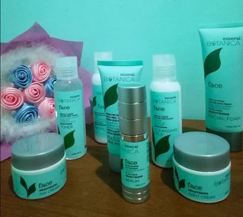 Skincare Mineral Botanica, Pakai Skincare Biar Glowing