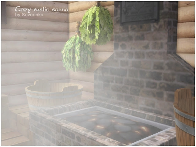 печка для Sims 4, баня для Sims 4, Sims 4, банный декор, сауна для Sims 4, оформление бани, корыто для Sims 4, шайка для для Sims 4, деревянная стена для Sims 4,