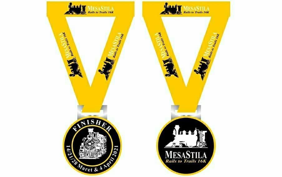 Medali � MesaStila Rails to Trails • 2021