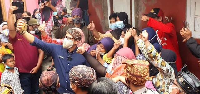 Sandiaga Uno Mulai Didoakan Jadi Pengganti Jokowi