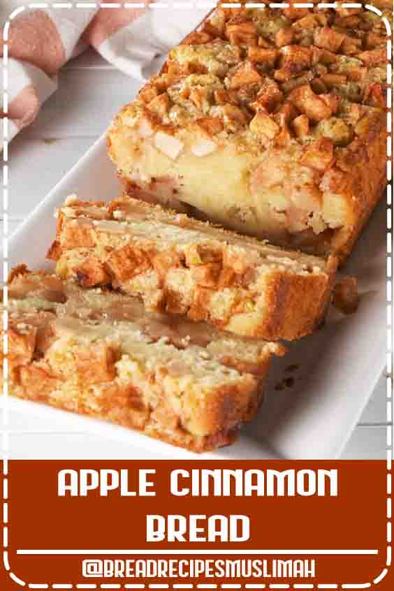 Apple Cinnamon Bread tastes like fall. Get the recipe at Delish.com. #recipe #easy #easyrecipes #delish #apple #cinnamon #bread #fall #baking #dessert #breakfast #fallrecipes #Sweet #Bread #Recipes #cinnamon #desserts