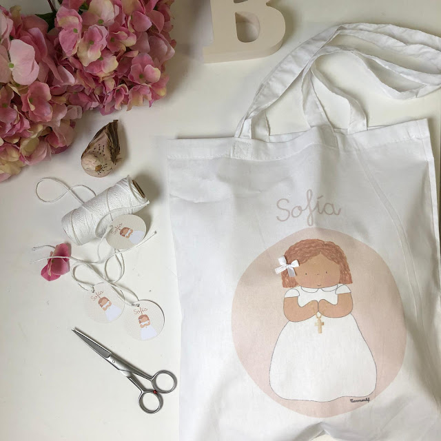 Bolsas de algodón personalizadas PRIMERA COMUNION