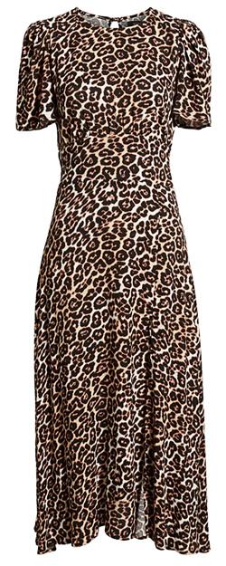 leopard print dress trend