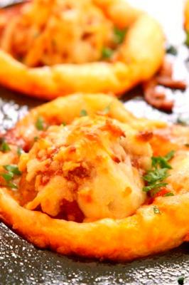 Cheesy Meatball Bites Recipe