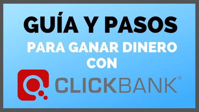 como ganar dinero con clickbank