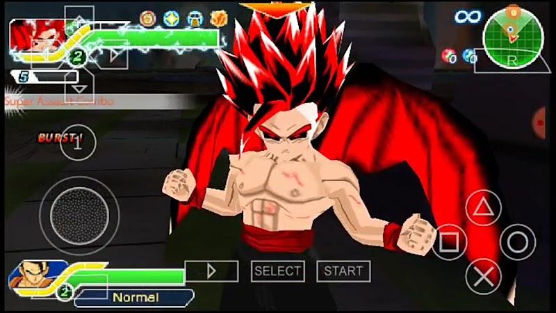 New Dragon Ball Z Zenkai Battle TTT ISO PSP