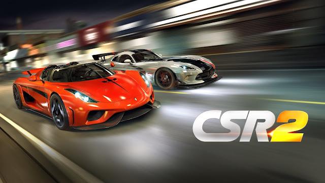 تحميل لعبة السباق CSR Racing 2 مهكرة كاملة للاندرويد آخر اصدار