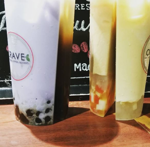 YOU CAN NOW GET SPLIT CUPS @CRAVE BOBA - GARDEN GROVE