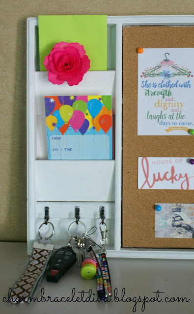 memo board mail organizer mudroom accessory