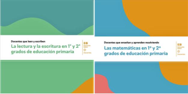 Talleres de formación docente: Lenguaje y Comunicación y Matemáticas