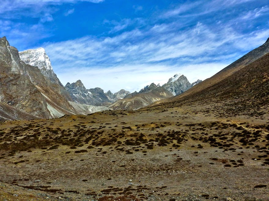 The way from Dingboche to Lobuche - My 25 Photos Of The Everest Base Camp Trek
