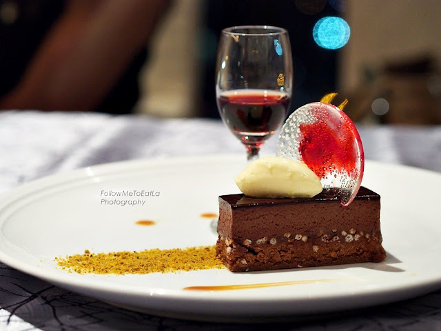Guanaja Chocolate Delice, Sea Salt Flakes, Butterscotch & Cream Cheese Mousseline