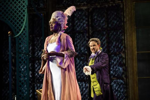 Mozart: Le nozze di Figaro - Julien Van Mellaerts, Nardus Williams - Opera Holland Park 2021 [Photo Ali Wright)