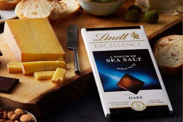 Lindt Excellence Sea Salt Dark Chocolate