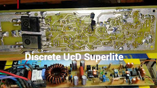 PCB Layout Power Amplifier Class-D UcD Superlite single layer