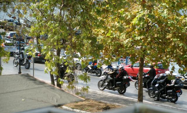 Θεσπρωτία: Τουρίστες με μηχανές στην Ηγουμενίτσα..