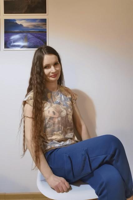 dresy niebieskie