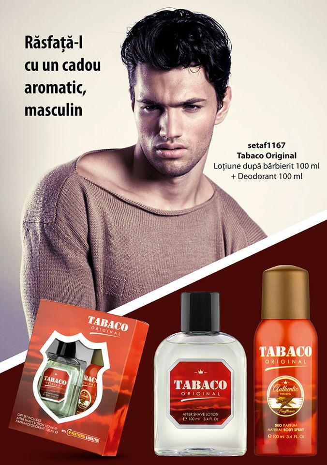 Set cadou aromatic, masculin: loţiune după bărbierit şi deodorant!