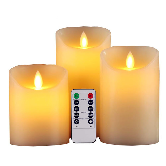 Electronic LED Candle Set of 3
