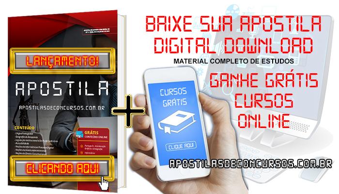Apostila Concurso Prefeitura de Uberaba MG 2020 PDF Edital Online Inscrições