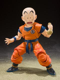 Dragon Ball Z – S.H. Figuarts Krillin, Tamashii Nations