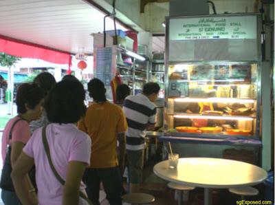 The Famous Nasi Lemak Stall