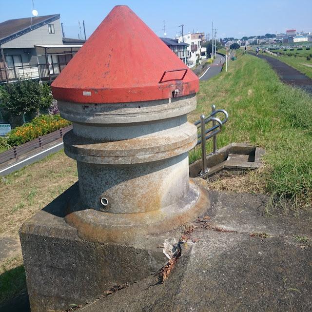 多摩川 砧下浄水場 導水管