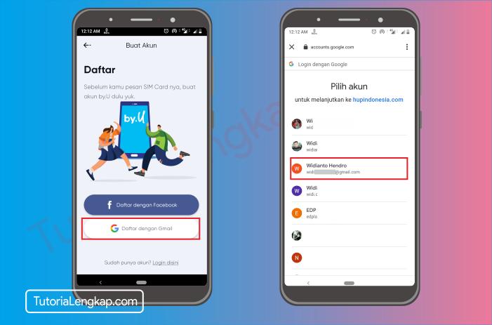tutorialengkap 6 Cara Membuat Akun By.U untuk memesan SIM Card Secara Online