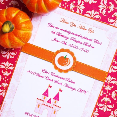 Our New Princess Pumpkin Party Printables