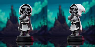 San Diego Comic-Con 2021 Exclusive God Emperor Doom Animated Marvel Mini Statue by Skottie Young x Gentle Giant