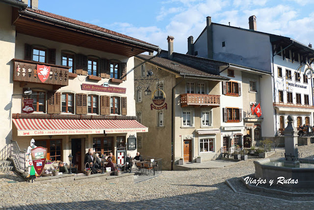 Casas de Gruyere, Suiza