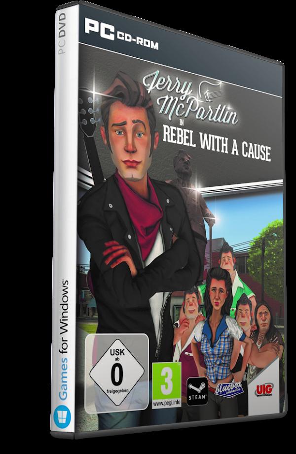 DESCARGAR Jerry McPartlin – Rebel with a Cause Multilenguaje (Español) (PC-GAME)  MEGA
