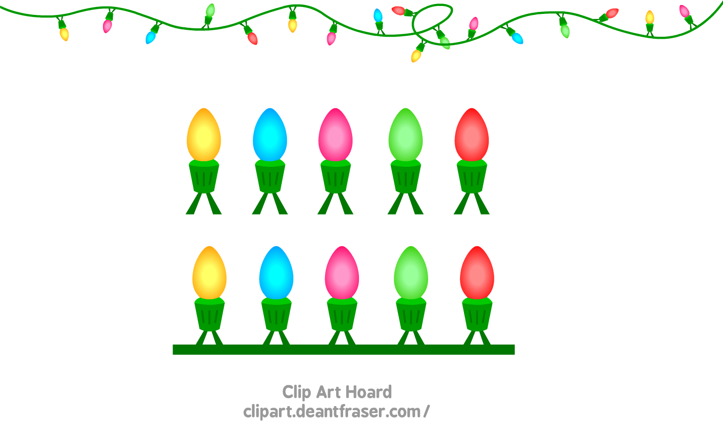 clipart of christmas lights - photo #31
