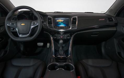 2017 Chevy Silverado SS Interior