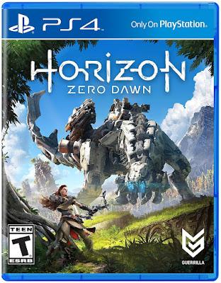 Horizon Zero Dawn Game Cover