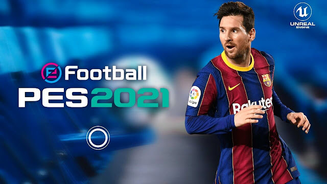 PES 2021 Mobile Patch V5.0.1 Android Latest Update Best Graphics New Menu Full Original Logo & Kits
