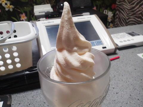 ソフトクリーム2 おんちっち尾西店2回目