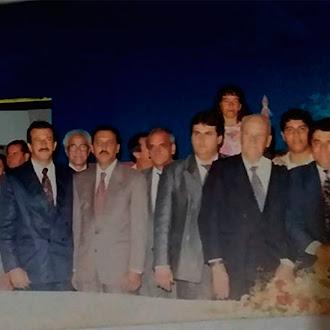 Posse do primeiro governo do município em 1997