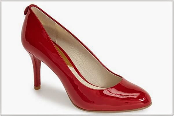 Michael Kors Red Patent Pumps