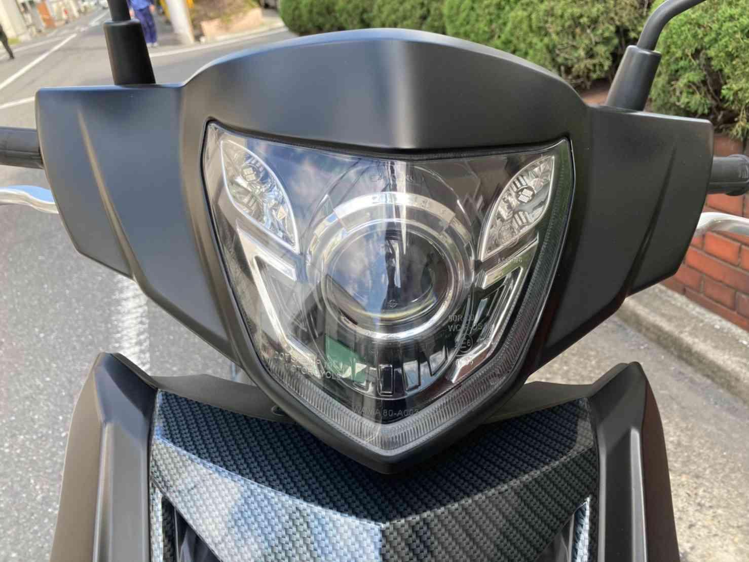 ティグラ168R プロジェクターヘッドライト