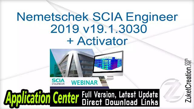 Nemetschek SCIA Engineer 2019 v19.1.3030 + Activator
