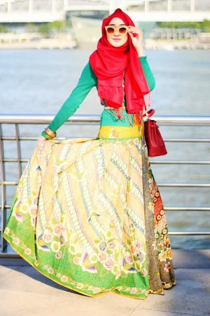 model baju dress dian pelangi