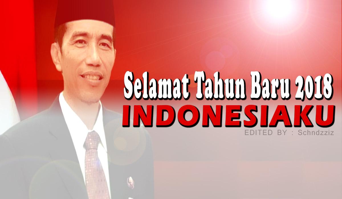 Kumpulan Kata Ucapan Selamat Tahun Baru 2018 Pak Jokowi