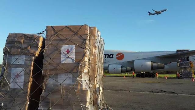 Cruz Roja ha traído 82 toneladas de ayuda a Venezuela desde abril