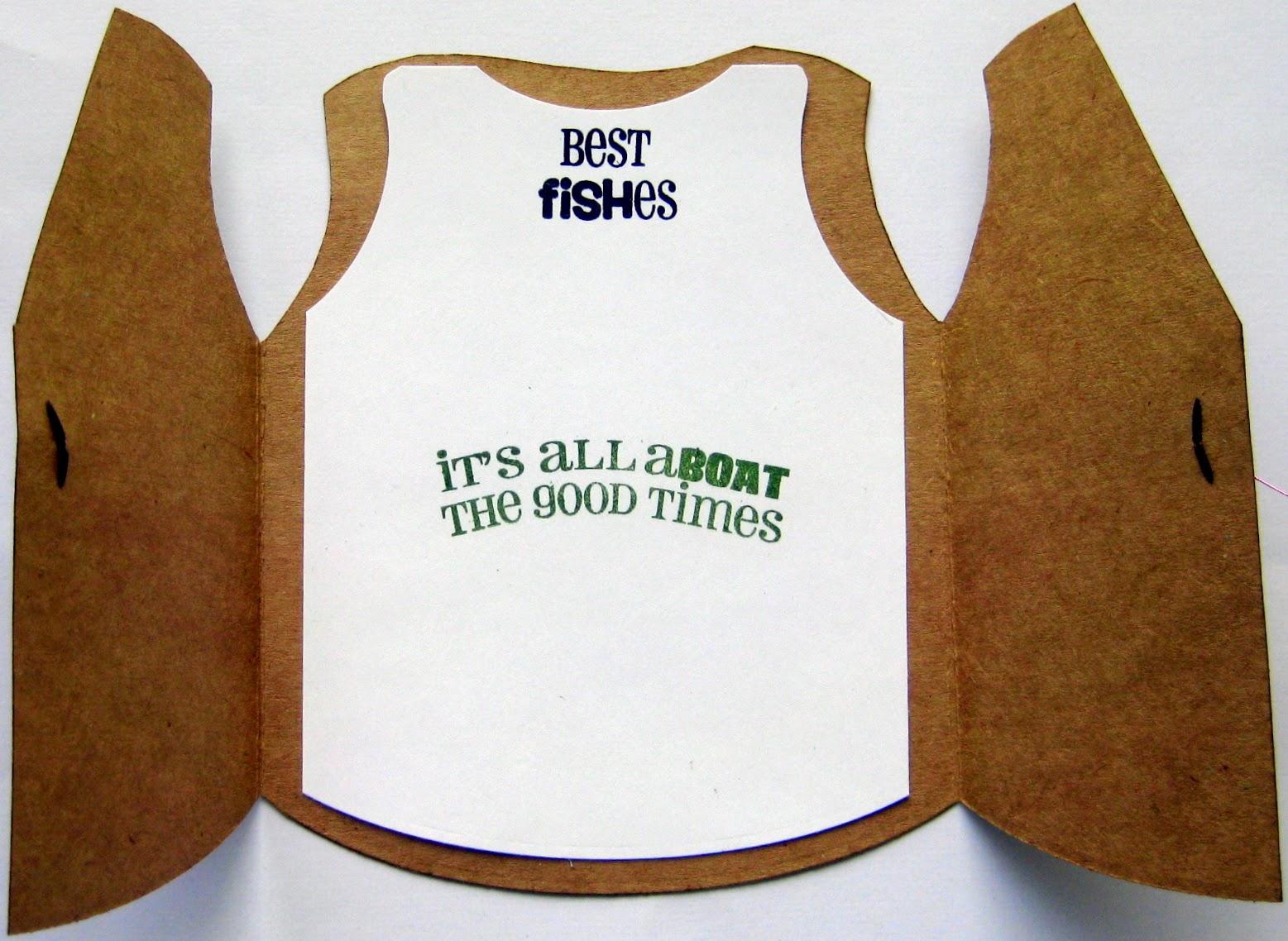 karen s kreative kards guy s fishing vest card